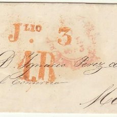 Sellos: SANTANDER A MADRID. 1853.. Lote 69232965