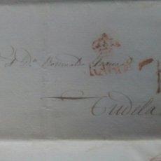 Sellos: PREFILATELIA ARAGÓN CARTA 1840 DE ZARAGOZA A TUDELA PORTEO 7. Lote 69610169