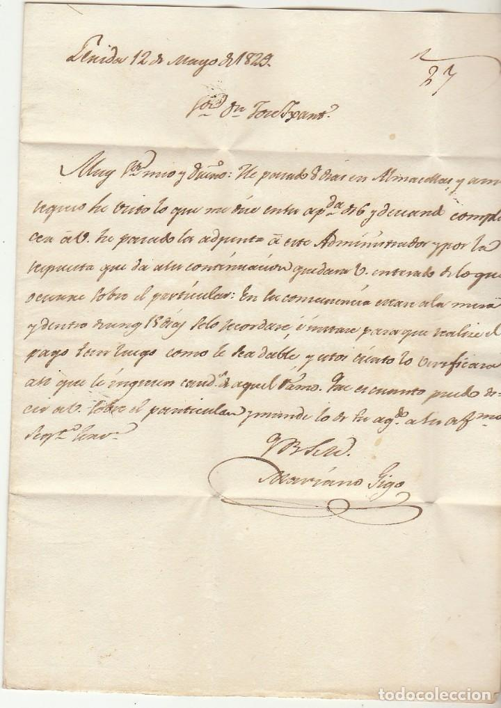 Sellos: LERIDA a BARCELONA. 1829. - Foto 3 - 72444003