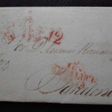 Sellos: CARTA CIRCULADA DE BARCELONA SEVILLA 1831. Lote 73801447
