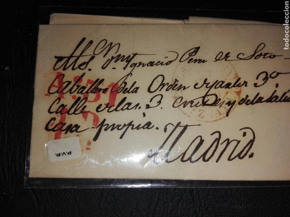 CIRCULADA MADRID 1850 (Filatelia - Sellos - Prefilatelia)