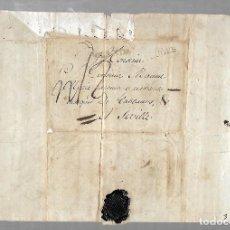 Sellos: 1779. CARTA DIRIGIDA DE BRUGES, HOLANDA A SEVILLA. DIRIGIDA AL MARQUES DE TABLANTES. VER DORSO. Lote 75659431