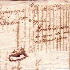 Sellos: 1751 PREFILATELIA PERÚ. LIMA A LAMBAYEQUE. PERIODO COLONIAL ANTERIOR A LAS MARCAS POSTALES. Lote 75763075