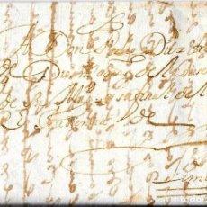 Sellos: 1650 CIRCA PREFILATELIA PERÚ. 2 CARTAS OFICIALES REMITIDAS A LIMA. PERIODO COLONIAL ESPAÑOL. Lote 75763627