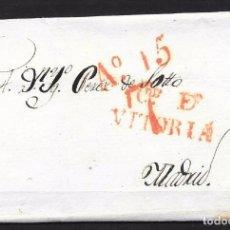 Sellos: 1831. MARCA DE VITORIA. Lote 76665659