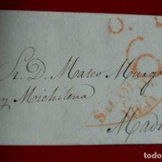 Sellos: PREFILATELIA PREFILATELICA CARTA COMPLETA SALAMANCA A MADRID 1839. Lote 77602745