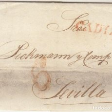 Sellos: CADIZ A SEVILLA . 1829.. Lote 78991705