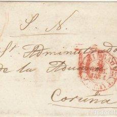 Sellos: FRONTAL : BILBAO A CORUÑA. 1844.. Lote 78993645
