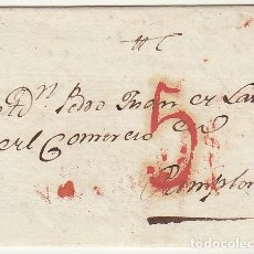 Sellos: VALTIERRA A PAMPLONA. 1823.. Lote 78995521