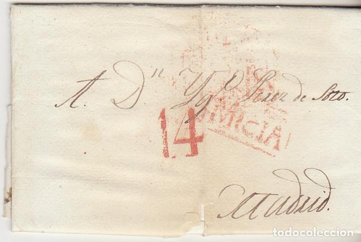 MURCIA A MADRID. 1833. (Filatelia - Sellos - Prefilatelia)