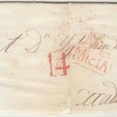 Sellos: MURCIA A MADRID. 1833.. Lote 78998009