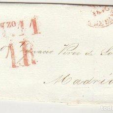 Sellos: SANTANDER A MADRID . 1826.. Lote 79219097