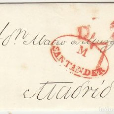Sellos: SANTANDER A MADRID. 1839.. Lote 79220185