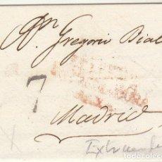 Sellos: LLERENA-BADAJOZ A MADRID. 1817.. Lote 79220985