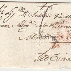 Sellos: BURGOS A TREVIANA-LOGROÑO. 1818.. Lote 79222917