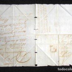 Sellos: AÑO 1736. GERENA, SEVILLA. CARTA PREFILATÉLICA FIRMADA POR CONDE DE GERENA MANDA REMITIR CARRETA. . Lote 81082688