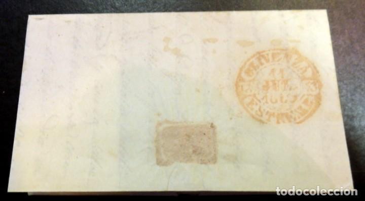 Sellos: CARTA CIRCULADA EN 1850, ENTRE CACERES Y OLIVENZA, VER IMAGENES - Foto 2 - 84121812