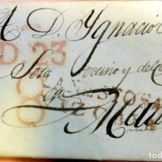 Sellos: CARTA COMPLETA PREFILATELICA, AÑO 1834, LANESTOSA/ VIZCAYA. Lote 84362840