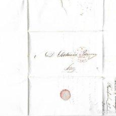 Sellos: CARTA. 1842. DE LACAVE Y ECHECOPAR, CADIZ A GARVEY, JEREZ. VER. Lote 84799664