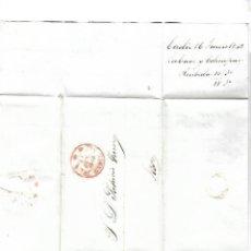 Sellos: CARTA. 1842. DE LACAVE Y ECHECOPAR, CADIZ A GARVEY, JEREZ. VER. Lote 84902920