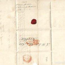 Sellos: CARTA. 1849. DE MARCOS DE LATASA, CADIZ DIRIGIDA A JOSE Mª DE YBARRA, CADIZ. VER. Lote 84908672
