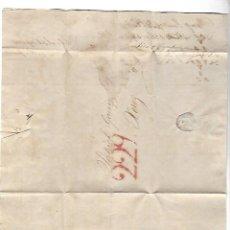 Sellos: CARTA. 1836. DARTHIN, LONDRES DIRIGIDA A PATRICIO GARVEY, JEREZ. VER. Lote 84912220