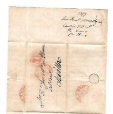 Sellos: CARTA. 1849. DE JOSE F. MOVELLAN, CADIZ A JOSE Mª DE YBARRA, SEVILLA. VER. Lote 84913688