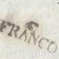 Sellos: FRAGMENTO MARCA PREFILATELICA CASPE ZARAGOZA COLOR NEGRO TINTA ESCRIBIR INEDITO PREFILATELIA. Lote 85214704