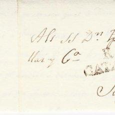 Sellos: PREFILATELIA-CARTA COMPLETA DE REUS A SITGES NUM.8 1814. Lote 87626156