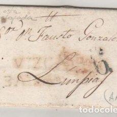 Sellos: PREFILATLIA NO CATALOGADA BALMASEDA VALMASEDA, LIMPIAS 18/4/ 1837. Lote 92997965