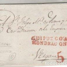 Sellos: PREFILATLIA GUIPUZCOA MONDRAGON AÑO 1832. Lote 93004585