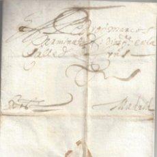 Timbres: PRECIOSA CARTA PREFILATELICA ARCHIVO CARMINATI FECHADA EN TOLEDO 1657 A MADRID . Lote 97487139