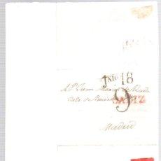 Sellos: SOBRE PREFILATELIA CADIZ - MADRID. 12 DE JULIO DE 1825. Lote 98130479