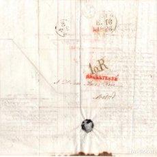 Sellos: SOBRE PREFILATELIA LONDRES - MADRID. 31 DE DICIEMBRE DE 1826. Lote 98130571