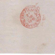 Sellos: TAMPÓN PREFILATÉLICO DE TRUJILLO ( CÁCERES ) . AÑO 1816. Lote 98188647