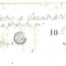 Sellos: PLICA. DE HOLGUIN A PUERTO PRINCIPE. 1853. Lote 98739243