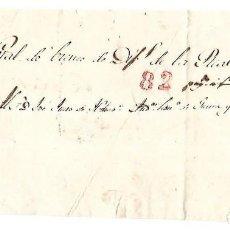 Sellos: PLICA. DE PUERTO PRINCIPE A SANTIAGO DE CUBA. 1847. Lote 98739431