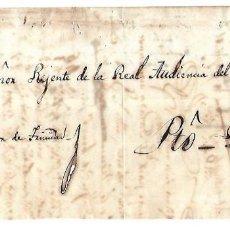Sellos: PLICA. DE TRINIDAD A PUERTO PRINCIPE. 1852. Lote 98739495