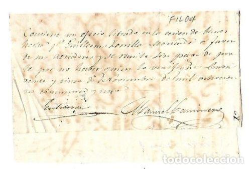 Sellos: PLICA. DE SANTIAGO DE CUBA A TIOMANI. 1851 - Foto 2 - 98739583