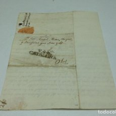 Sellos: CARTA PREFILATELICA DE VIC 11 DE FEBRERO 1809 A OLOT. Lote 98958355