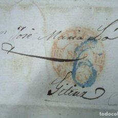 Sellos: PREFILATELIA OLEIROS 1843 CORUÑA GALICIA CON SELLO. Lote 99546683