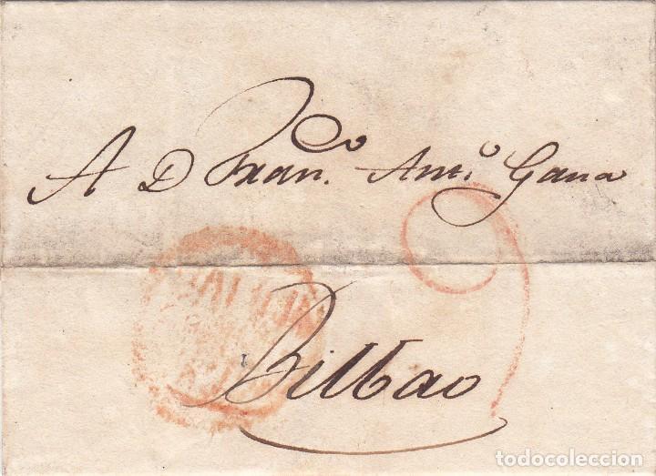 CARTA: 1819 BILBAO (Filatelia - Sellos - Prefilatelia)
