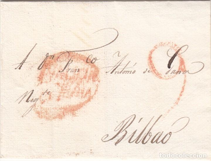 CARTA: 1816 BILBAO (Filatelia - Sellos - Prefilatelia)