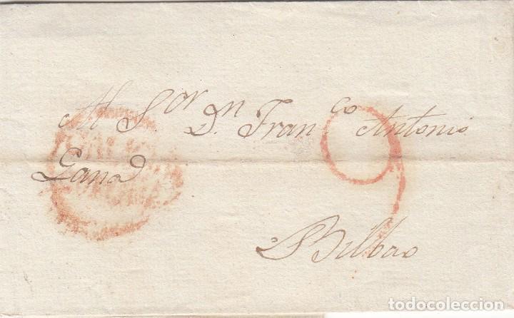 CARTA: 1810 BILBAO (Filatelia - Sellos - Prefilatelia)