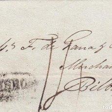 Selos: CARTA: 1819 LISBOA - BILBAO (3). Lote 101795743