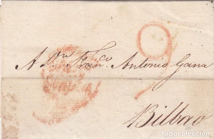 CARTA: 1814 BILBAO (Filatelia - Sellos - Prefilatelia)