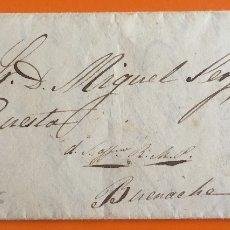 Francobolli: CARTA PREFILATELICA- MOTILLA ( CUENCA) A BUENACHE 1.856. Lote 107955267