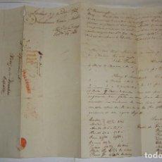 Selos: PREFILATELIA. CARTA MANUSCRITA. DE LONDRES A JEREZ DE LA FRONTERA, VIA FRANCIA. 1825. Lote 115720471