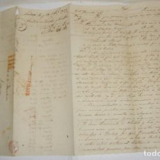 Selos: PREFILATELIA. CARTA MANUSCRITA. DE LONDRES A JEREZ DE LA FRONTERA, VIA FRANCIA. 1825. Lote 115721007