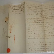 Selos: PREFILATELIA. CARTA MANUSCRITA. DE LONDRES A JEREZ DE LA FRONTERA, VIA FRANCIA. 1825. Lote 115721551